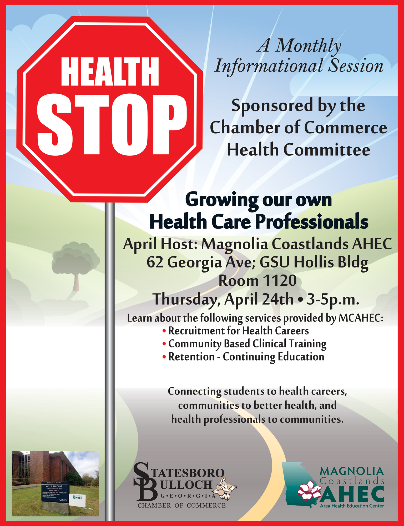 Health Stop: Growing our own  Health Care Professional
