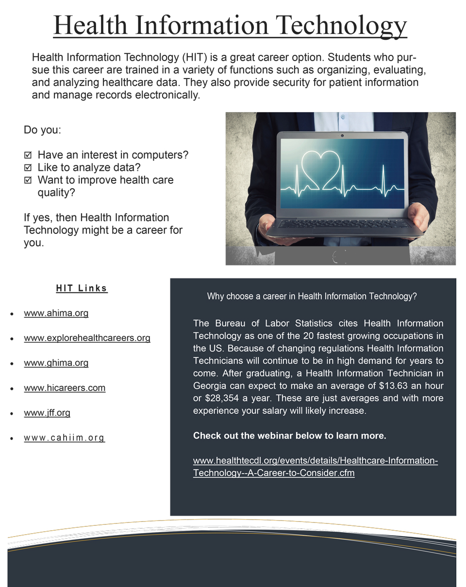 Information Technology Management: Health Information Technology Resources