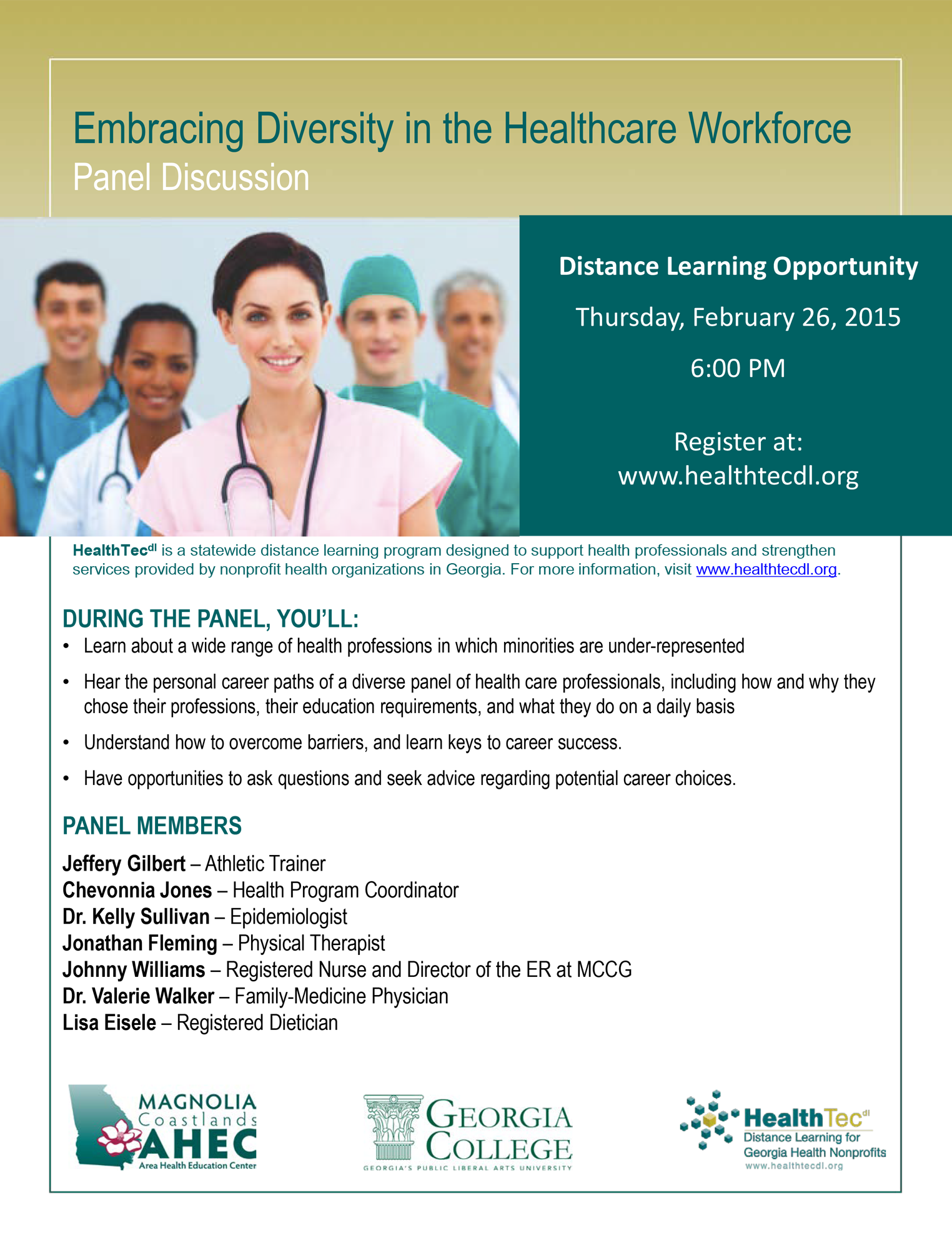 Embracing Diversity in the Healthcare Workforce 2015