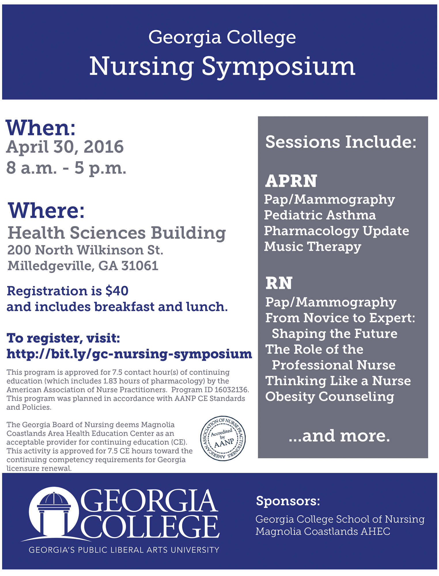 Georgia College Nursing Symposium