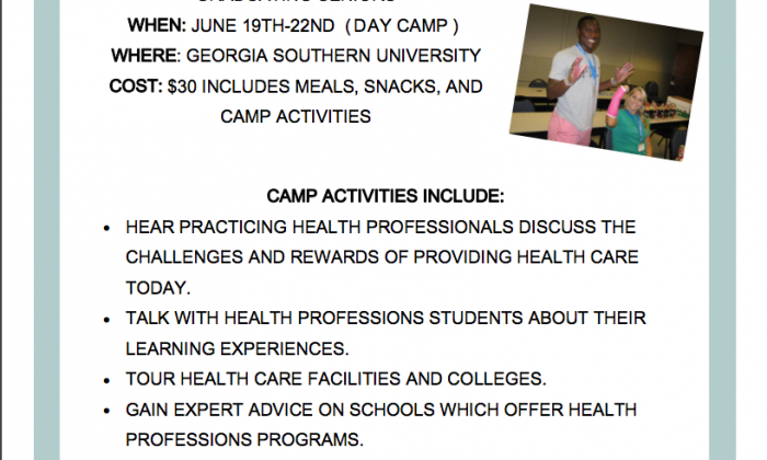 HealthCareerCampFlyer2017