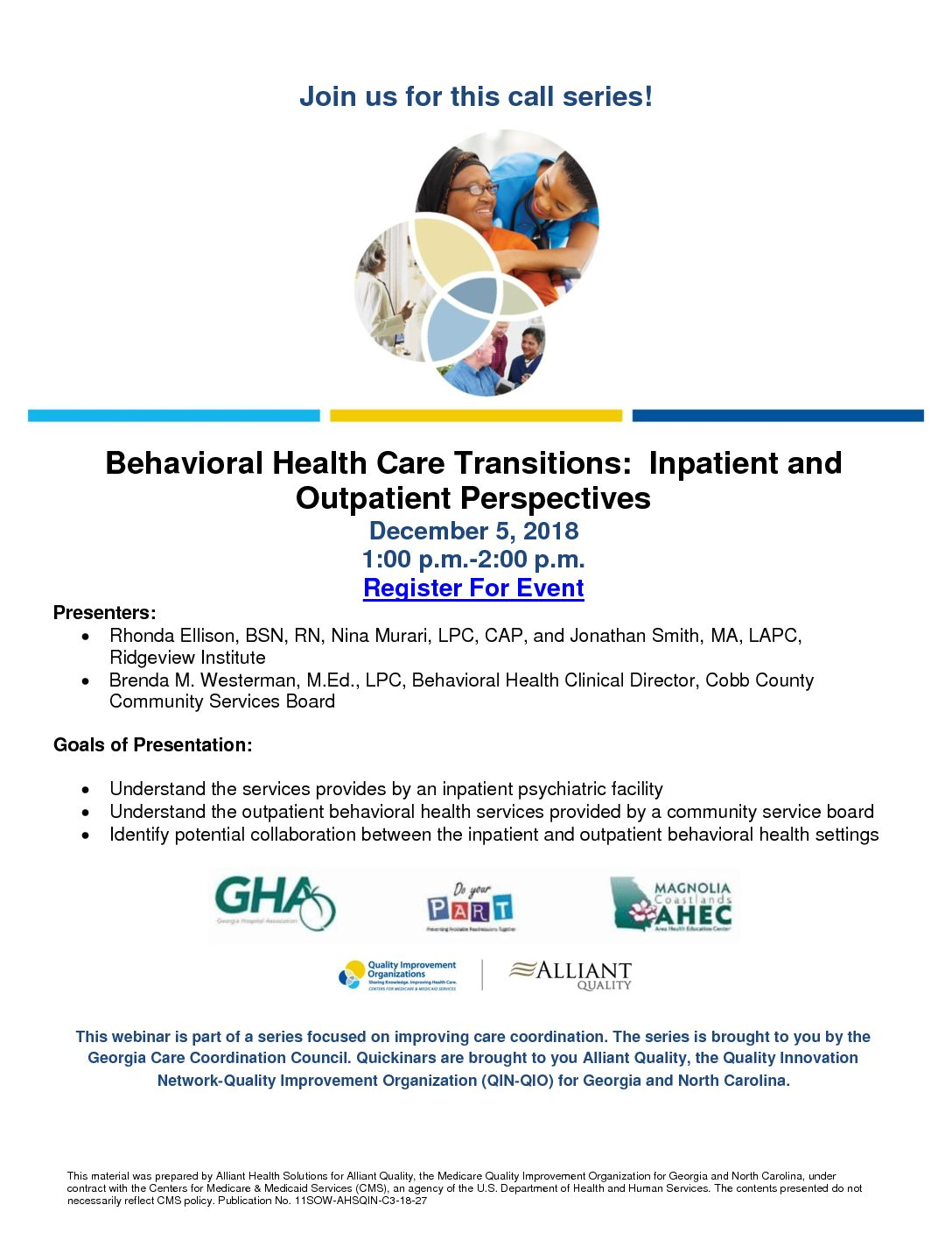 Behavioral Health Care Transitions