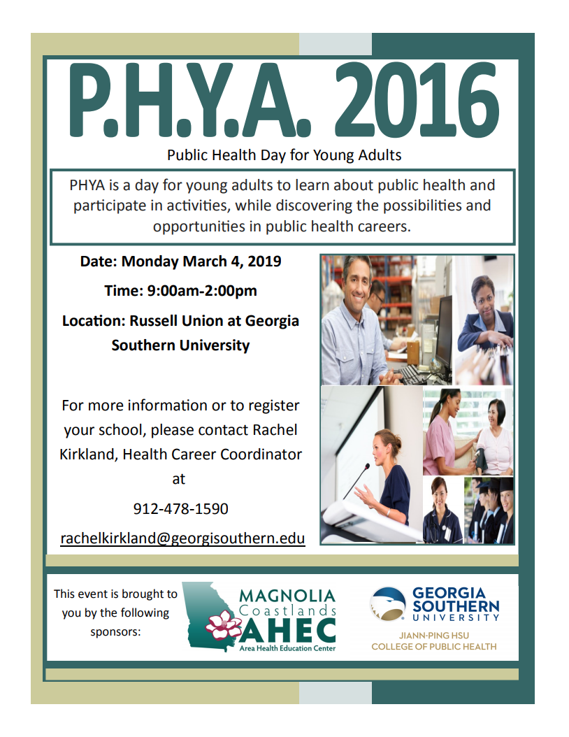 Public Health Day for Young Adults 2019